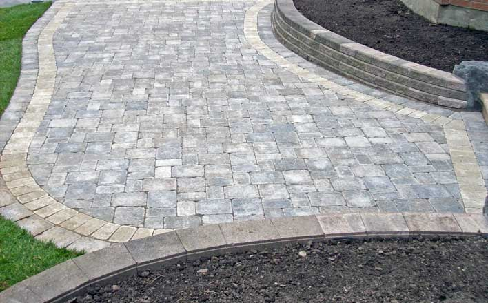 Interlock Patio Landscaping
